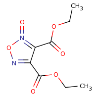 2d structure of 3,4-diethyl 2-oxo-1,2$l^{5},5-oxadiazole-3,4-dicarboxylate