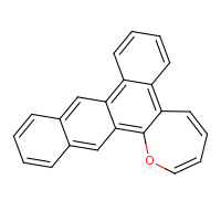 2d structure of 13-oxapentacyclo[13.8.0.0^{2,7}.0^{8,14}.0^{17,22}]tricosa-1,3,5,7,9,11,14,16,18,20,22-undecaene